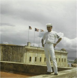 A Filipino American military person.