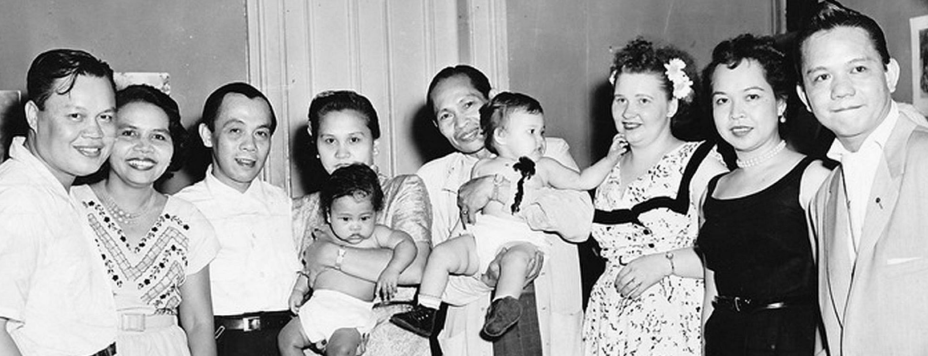 Photo of Dolores Alic and her immigrant family in New York City (circa 1952).
