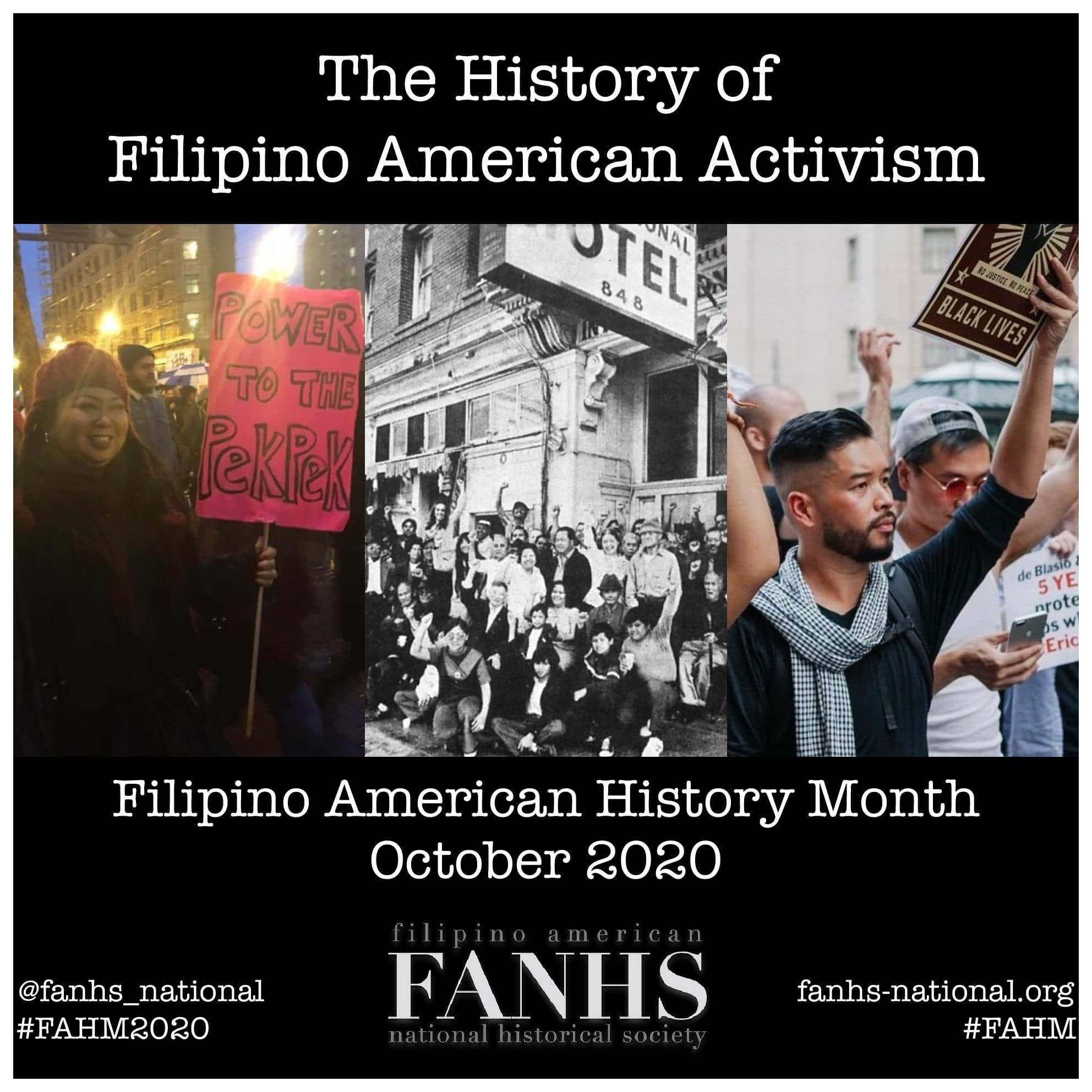 filipino activism flyer